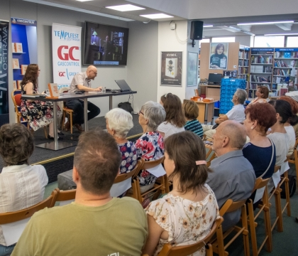 Public reading at House of Book in Ostrava