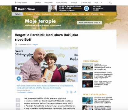 Review on Czech National Radio website