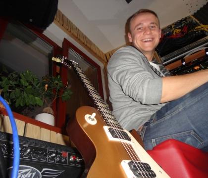 Nahrávání ve studiu Ziki Records